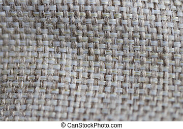 Sackcloth woven texture pattern background light cream...