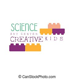 Kids Creative Class Template Promotional Logo With...