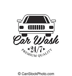 Premium Quality Round The Clock Carwash Service Black And...
