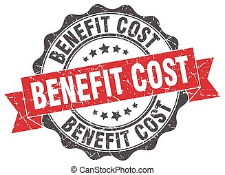 benefit cost stamp. sign. seal