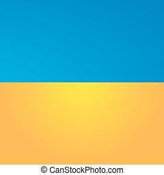 Ukraine flag.