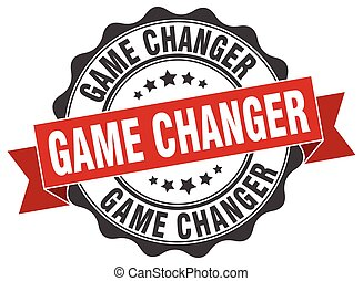 game changer stamp. sign. seal