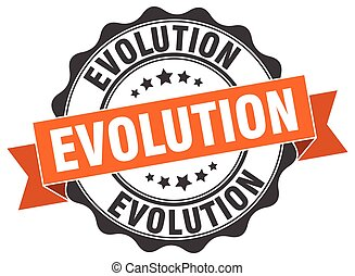 evolution stamp. sign. seal