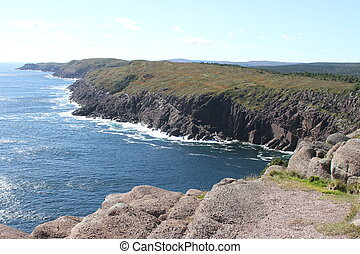 Cape Spear, Newfoundland, Canada - View of cape spear