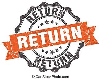 return stamp. sign. seal