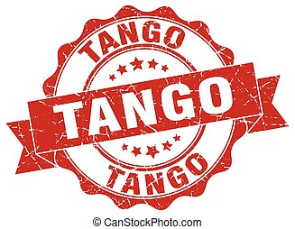 tango stamp. sign. seal