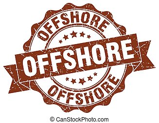 offshore stamp. sign. seal