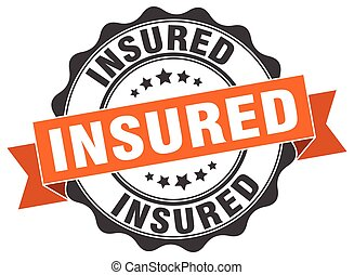 insured stamp. sign. seal