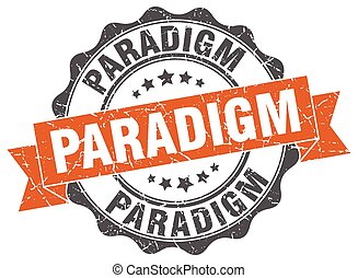 paradigm stamp. sign. seal