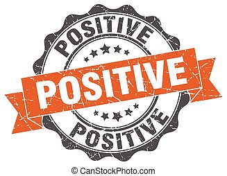 positive stamp. sign. seal
