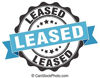 leased stamp. sign. seal