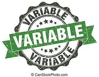 variable stamp. sign. seal