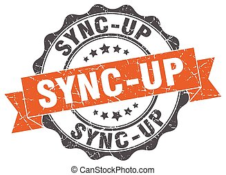 sync-up stamp. sign. seal