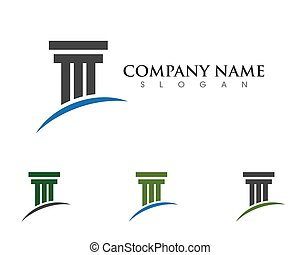 pillar logo template