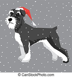 Vector Dogs Collection - Vector polygon dog collection. Dog...