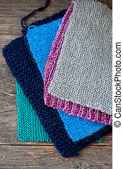 Dish cloths - Knitted dish cloths