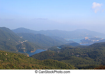 Tai Tam Reservoir Country park - the Tai Tam Reservoir...