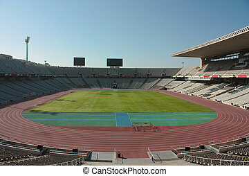 Montjuic Olympic stadium - Montjuic Olympic Stadium, since...