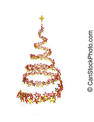 Stardust Christmas Tree - Stardust christmas tree on the...