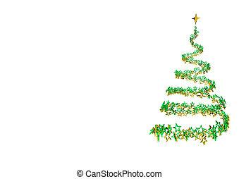 Stardust Christmas Tree