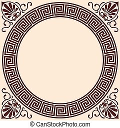 Vector Greek background. - Vector Greek style background....