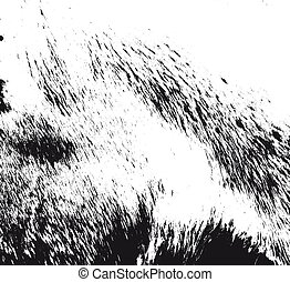 Distressed overlay texture of natural fur, grunge vector...