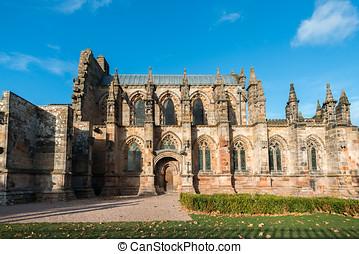 Rosslyn Chapel, Scotland - Rosslyn Chapel, or the Collegiate...