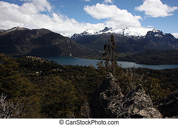 View at Bariloche - View from the Cerro Campanario viewpoint...