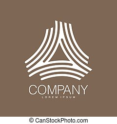 Vector abstract logo. Business Icons. Company identity. Icon...