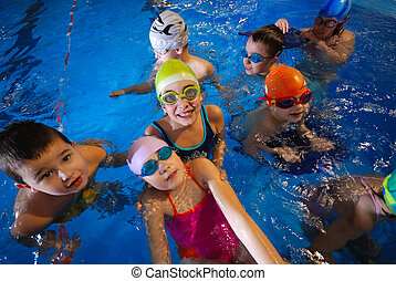 .happy swimmers