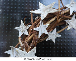 braided chaplet stars - a braided chaplet with stars