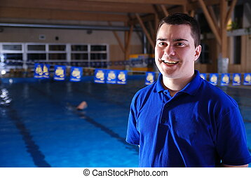 .swimming instructor
