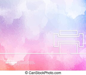 Abstract creative concept vector background. For web and...