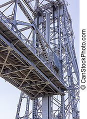 Under the Bridge - Under the lift bridge in Duluth,...