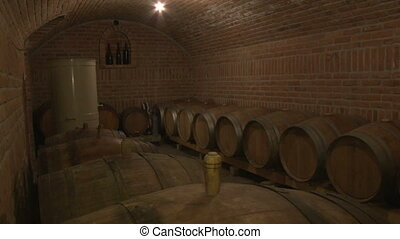 mix of 8 shots of the small wine cellar