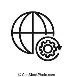 global management illustration design