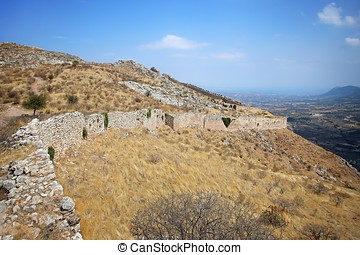 Acrocorinth (the acropolis of ancient Corinth)
