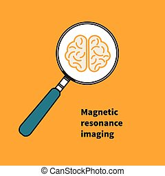 Logo, icon MRI - Icon MRI. Logo magnetic resonance imaging....