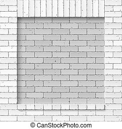 Brick masonry wall background