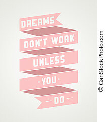 Art poster with motivational phrases - Motivational phrase...