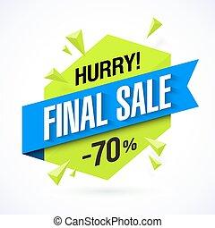 Final Sale banner - Final Sale poster, banner design