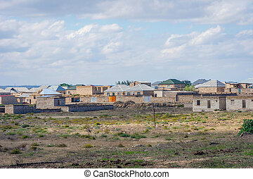Baku suburbs, Azerbaijan - Residential area in suburbs of...