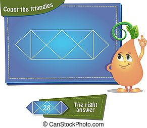 Count the triangles 12a