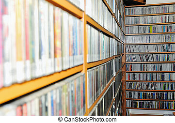 music collection - music cd dvd and plates collection...