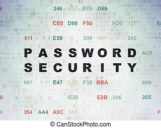 Protection concept: Password Security on Digital Data Paper...
