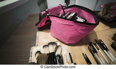 Cosmetics and toiletries. - Master class for make-up...