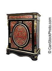 19th century Boulle French Sideboard inlay with red tortoise...