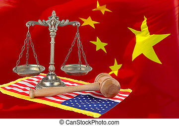 American and chinese Justice