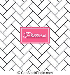 Cobbles grid stripped seamless pattern. - Cobbles grid...