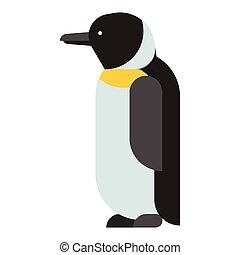 Penguin vector character - Penguin vector illustration...